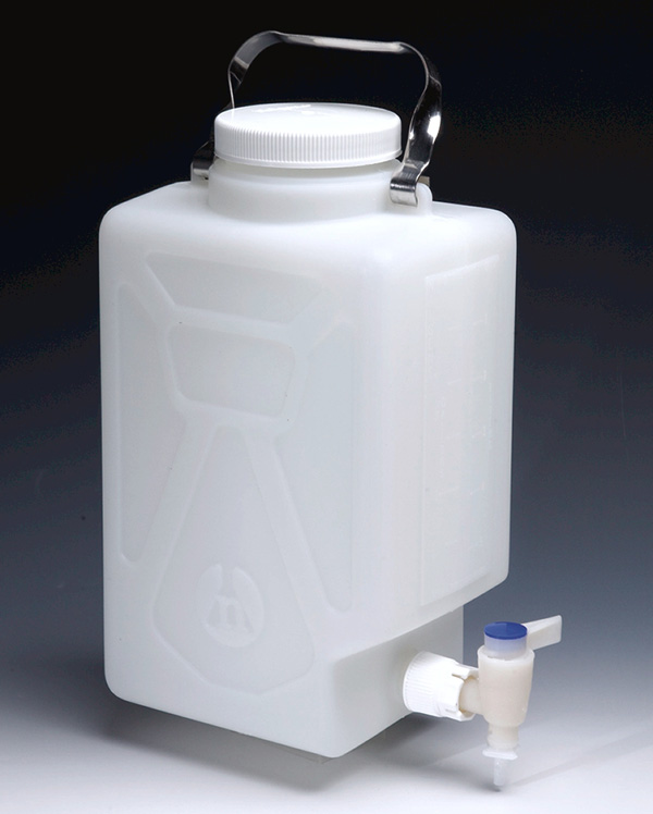 Fluorinated Carboys With Tap Carboys Plasticware