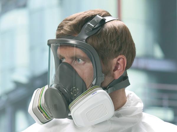maschera antifumo 3m