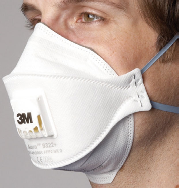 mascherina aura 3m ffp3
