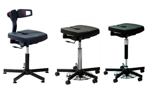 Sedie e sgabelli di laboratorio alsit gamma poliuretano